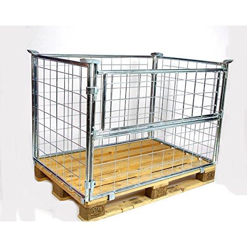 Preisvergleich Produktbild Gitteraufsatzrahmen Nutzhöhe 800 mm verzinkt 10er Pack