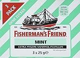 Fisherman's Friend Mint Multipack mit 3 Beuteln Minze und Menthol , 14er Pack (14 x 75 g)