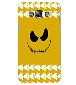 Printdhaba Scary Smily D-3878 Back Case Cover For Samsung Galaxy A8