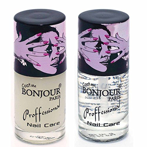 Coat Me Bonjour Paris Nail Polish Absolute Nail Lock - Top Coat / Base Coat