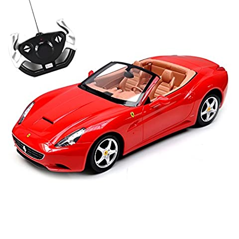 Ferrari California Remote Controlled RC Car 1:12 Scale R/C Injection Moulded Body - Red
