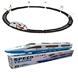 #9: combo of High Speed Metro With Round Track with Emu Speed Train For Kids
