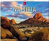 Namibia - Land der Kontraste: Original Stürtz-Kalender 2020 - Großformat-Kalender 60 x 48 cm