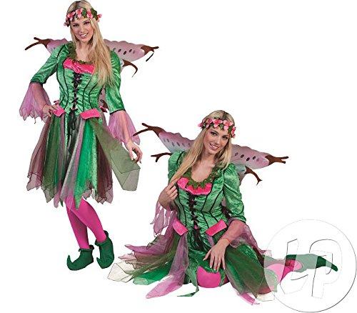 Kostüm Damen Erwachsene Für Elvira - Flatter Elfe Elvira Damenkostüm-Damen 40/42