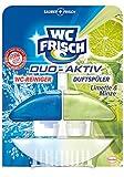WC Frisch Duo Aktiv Spüler Limette & Minze, WC Frische, 2er Pack (2 x 1 Stück)