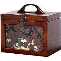Wooden Medicine Box Home Erste-Hilfe-Kits Besuchen Sie Medical Box Kinder Kleine Medizin-Box Familie Medizin Aufbewahrungsbox preisvergleich bei billige-tabletten.eu