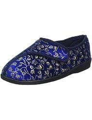 Patterson Chaussons Confort Femme Bleu 39