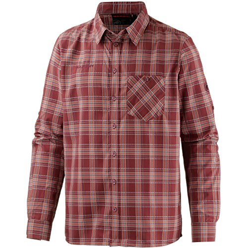 Mammut Belluno Longsleeve Shirt Men - Outdoorhemd rost/orange