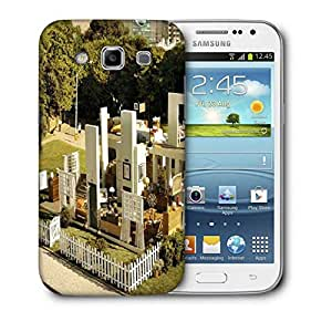 Snoogg Playing House Printed Protective Phone Back Case Cover For Samsung Galaxy Samsung Galaxy Win I8550 / S IIIIII