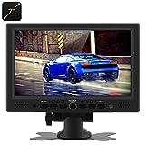 BW 7 Inch TFT LCD Car Monitor HDMI Car Monitor - HDMI + VGA + AV Video Inputs, 800x480 Native Resolution (Supported Display Resolution: 1920x1200,1280×1024,1024×768,800×600,640×480 RGB ), 360 Degree Rotating Stand