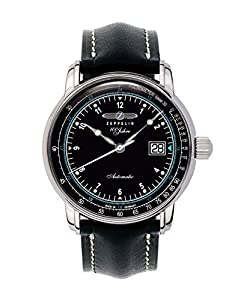 Zeppelin Watches Men's Automatic Watch Watches 76642S with Leather Strap