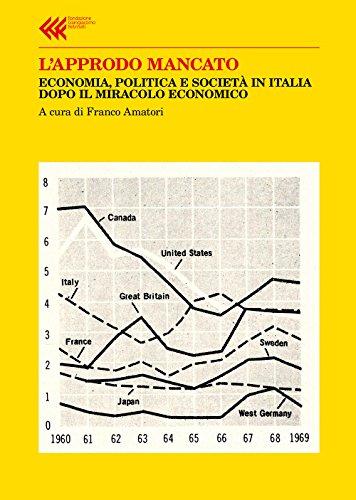 L'approdo mancato. Economia, politica e società in Italia dopo il miracolo economico