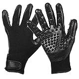 ZHANGZHIYUA Hundepflegehandschuhe Handschuhe für das Ablegen, Baden, Putzen, Entschälen von Pferden/Hunden/Katzen/Vieh/Kleintieren,A