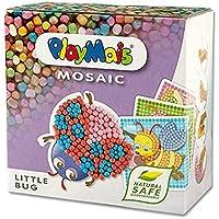 PlayMais Mosaic Kit de Loisirs créatifs Little Bug pour Fille et garçon à partir de 3 Ans | 2300+ pièces & 6 modèles de…