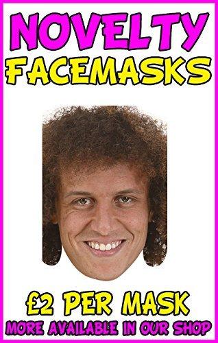 David Luiz Novelty Celebrity Face Mask Party Mask Stag Mask