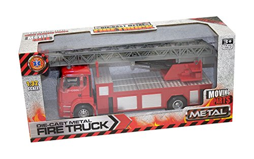 Kidz fire Truck die cast 1:32 Scale Imported from Italy