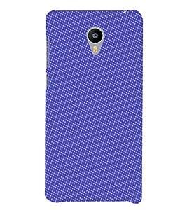 PrintVisa Corporate Print & Pattern Blue Dots 3D Hard Polycarbonate Designer Back Case Cover for Meizu M3