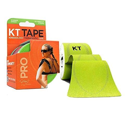 KT TAPE Pro, Vorgeschnittene, 20 Streifen, Synthetisch, (Ankle Brace Facile Applicazione Brace)