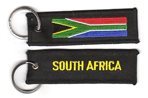 Preisvergleich Produktbild Schlüsselanhänger Südafrika Anhänger Fahne Flagge FLAGGENMAE®