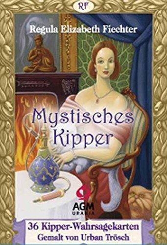 Mystisches Kipper: Deck mit Kipper-Wahrsagekarten & Booklet (Orakelkarten, Kipperkarten zum Kartenlegen)