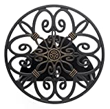 Best Hose Holder - Liberty Garden Products 670 Decorative Anti-Rust Cast Aluminum Review
