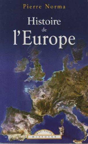 Histoire de l'Europe par Norma