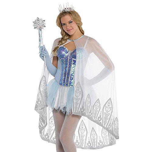 Kostüm Jugendliche Elsa Für - Umhang-Eiskönigin Kostümzubehör