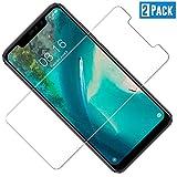 TOIYIOC [2 Stück] Panzerglas Schutzfolie für Xiaomi Redmi Note 6 Pro, 0.30mm Ultra-klar Folie Panzerglasfolie, Bildschirmschutzfolie kompatibel Xiaomi Redmi Note 6 Pro