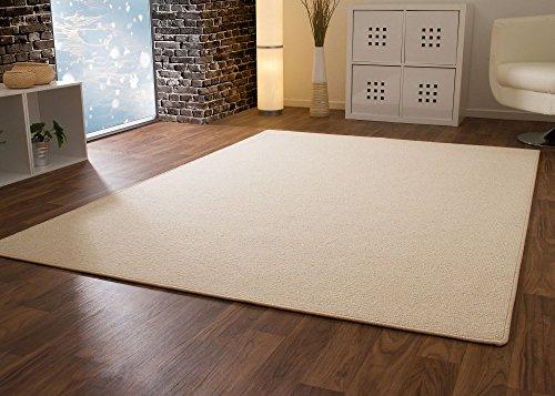 Designer Teppich Modern Berber Wellington in Beige, Größe: 160x230 cm