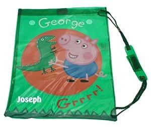 Peppa Pig - George Personalised Swim Bag