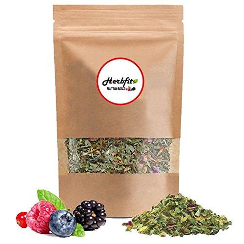 HERBFIT – Fit Berries Herbal Detox Tea – Detox Plus, Slimming Tea, Diuretics For Water Retention, Weight Loss, Slimming Tea, Weight Loss Tea, Detox Plus, Detox Drink, Fat Burner (28 Days – 100 Gramms)