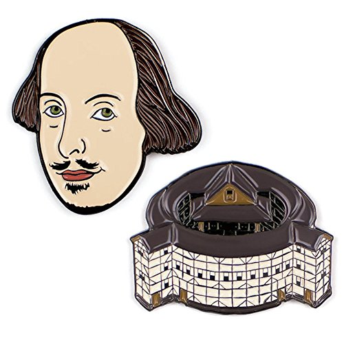 Unemployed Philosophers Guild 14971 William Shakespeare Pins