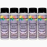 5 x 500 ml Spray Steinschlagschutz Unterbodenschutz Schwarz
