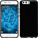 PhoneNatic Case für Huawei Honor 6c Hülle Silikon schwarz Cover Honor 6c Tasche Case