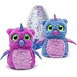 Hatchimals rosa y azul