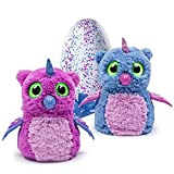 Hatchimals Owlicorn Pink/Blue Egg - One of Two Magical Creatures Inside