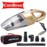 EFORCAR Car Vacuum Cleaner, Cordless Wet/Dry Vacuum Cleaner Review and Comparison
