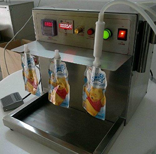 Hochwertigem Edelstahl Temperatur Stand-up Beutel Soja Milch F?llung Maschine, Waschmittel fl?ssig, Liquid F?llung Maschine -
