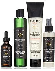 PHILIP B Coffret Traitement Cheveux et Cuir Chevelu en 4 Etapes