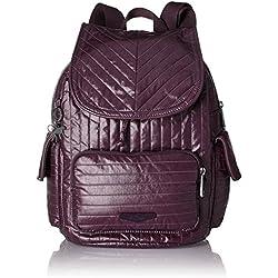 Kipling - City Pack S, Mochilas Mujer, Violett (Aubergine), 27x33.5x19 cm (B x H T)