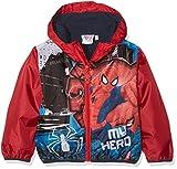 Disney Spiderman Giacca Impermeabile, Rosso, 98 (Taglia Produttore:3 Anni) Bambino