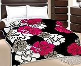 Monil Black Floral Design Kids Single Be...