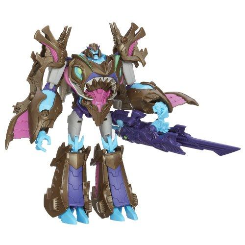 Transformers Prime Beast Hunters Voyager Class sharkticon Megatron Figur - Prime Transformer Megatron-spielzeug