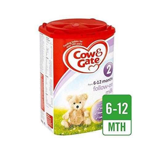 Mucca E Porta 2 Seguono Il Latte In Polvere 900G - Confezione da 4