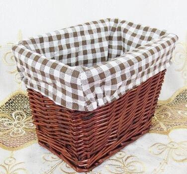 Mimbre cesta de mimbre cesta de almacenamiento Caja de almacenamiento de  escritorio Premier hogar 001 a1fbdad01a08
