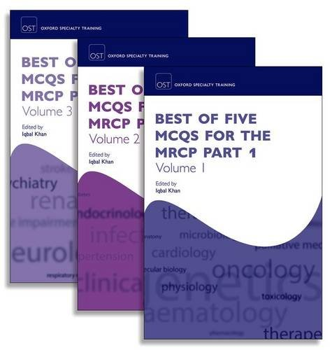 Best of Five MCQs for the MRCP Part 1 Pack (Oxford Specialty Training: Revision Texts)