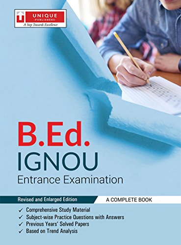 B. Ed IGNOU ENTRANCE EXAMINATION