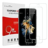 Lanhiem Verre Trempé pour iPhone 6 / 6S, Dureté 9H Ultra Résistant, [Installation Facile, sans Bulles], Film Protection écran pour iPhone 6S / 6, Compatible avec Les Coques, Transparent