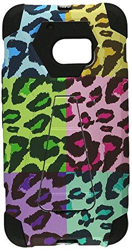 HR Wireless Handy Case für HTC M10-Retail Verpackung-Colorful Leopard/Schwarz (Htc Incipio Case)