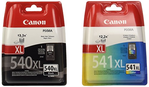 Preisvergleich Produktbild Canon High Capacity Ink Cartridge Value Pack PG-540XL,CL-541XL Genuine